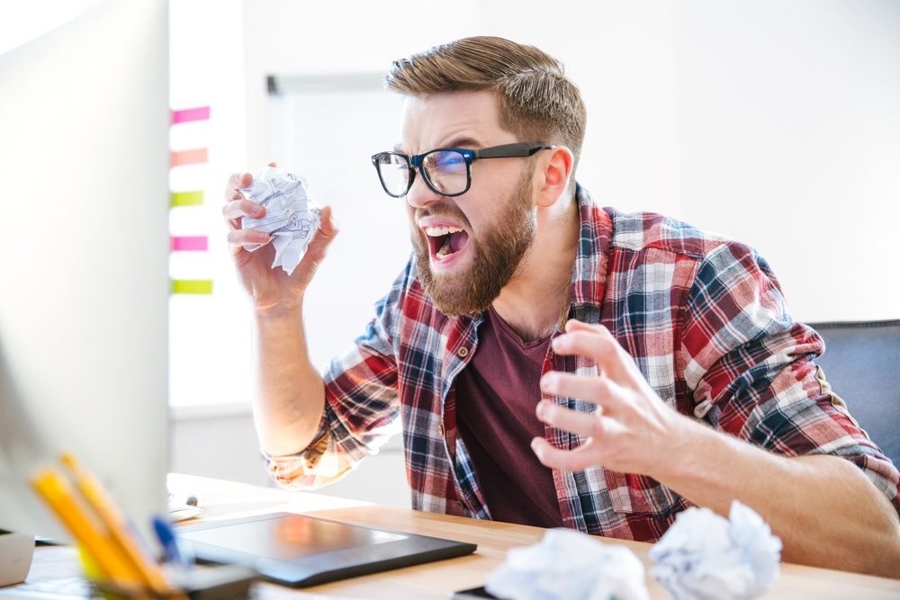 content marketing frustration hurry up