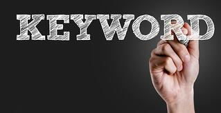 importance of the right keywords in writing blog topics