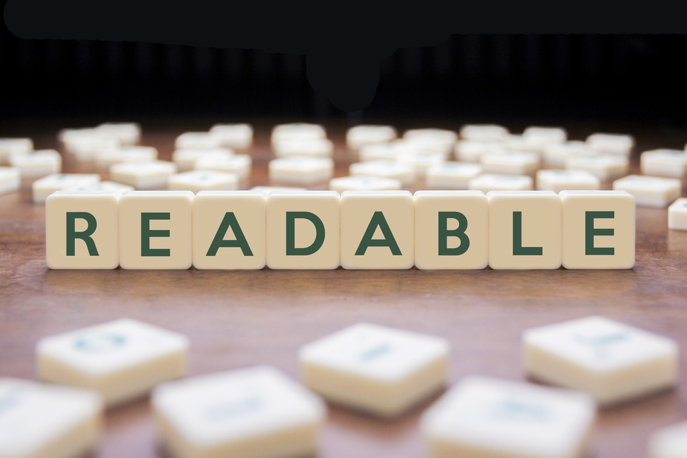 readability in content marketing blogs alaska medical websites