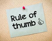 rule_of_thumb