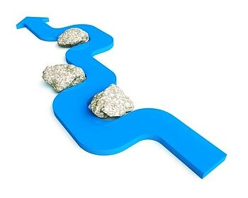 stepping_stones_with_blue_arrow_toward_goals_and_benchmarks